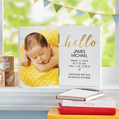 Welcome Home Baby Photo Panel