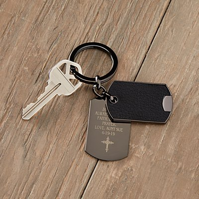 Words Of Faith Keychain