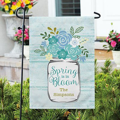 Spring Is In Bloom Garden Flag