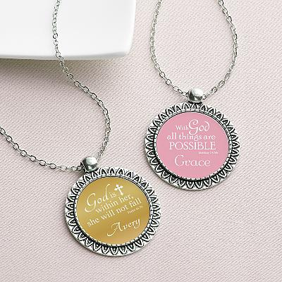 Words Of Faith Necklace