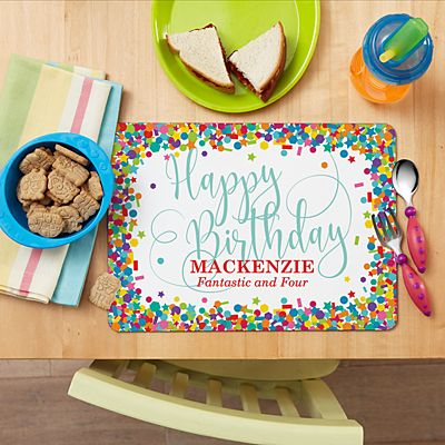It's Your Birthday! Placemat
