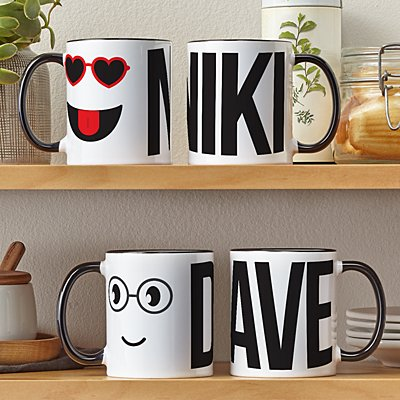 Create Your Own Couples Mug Set