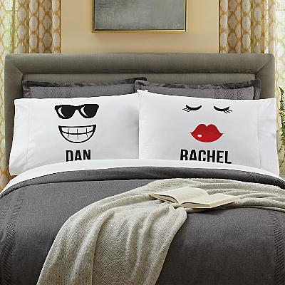 Create Your Own Couples Pillowcases - Set of 2