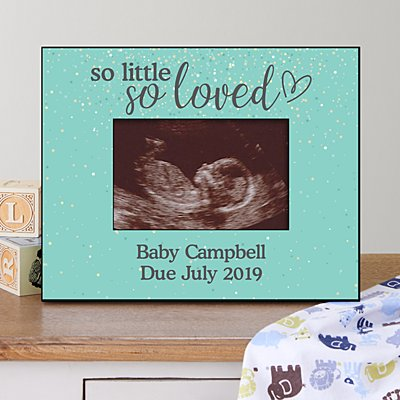 So Little, So Loved Sonogram Frame