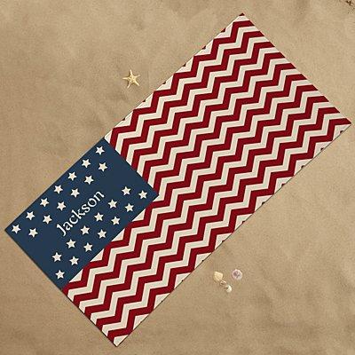 American Pride Beach Towel