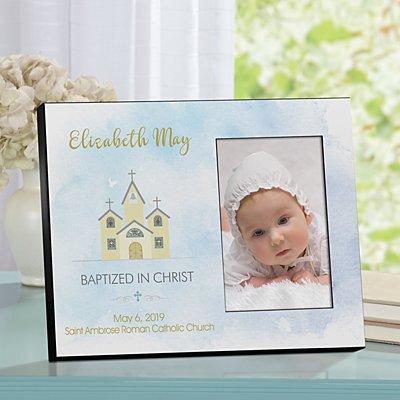 Little Chapel Baptism Frame