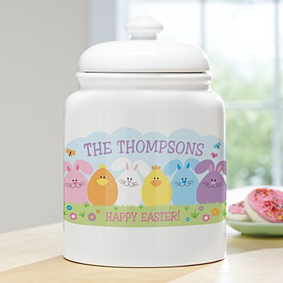 Spring Friends Treat Jar