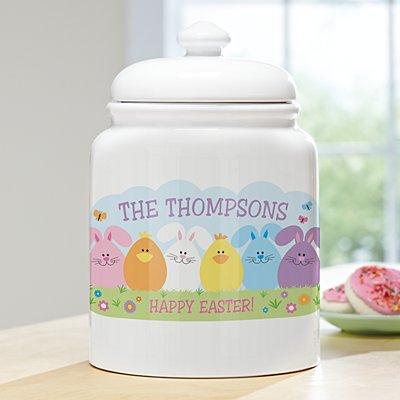 Spring Friends Cookie Jar