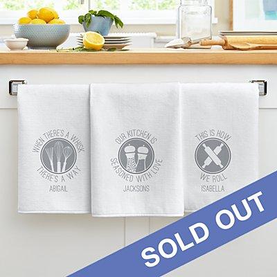 Chef Expressions Tea Towel