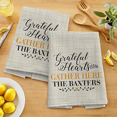 Grateful Hearts Tea Towels