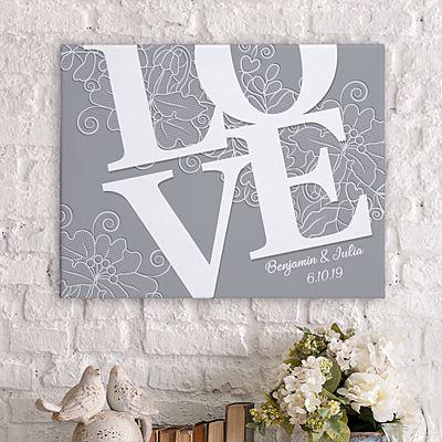 LOVE Couple Canvas