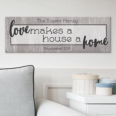 Love Makes Us Whole Canvas
