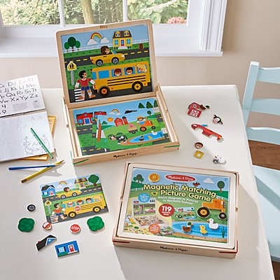 Melissa & Doug® Magnetic Matching Picture Game