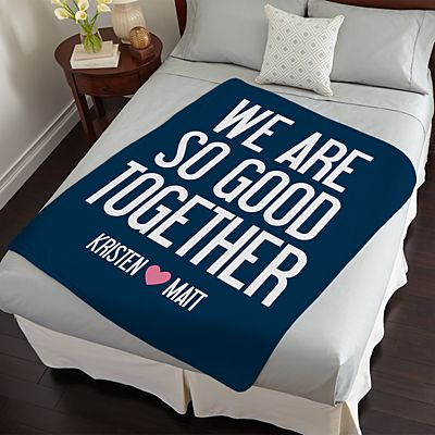 So Good Together Plush Blanket