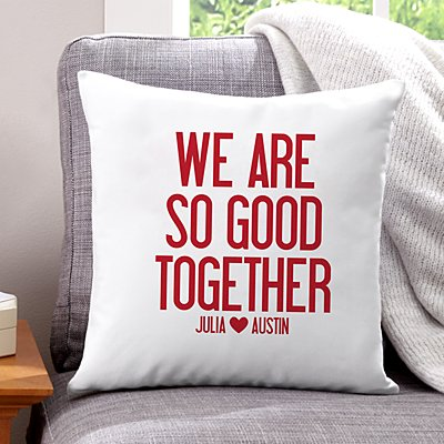 So Good Together Throw Pillow