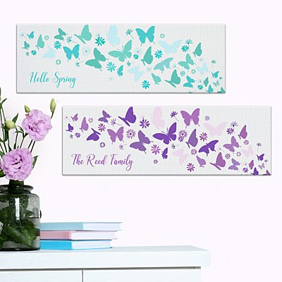 Butterfly Wishes Canvas