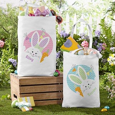 Funny Bunny Tote Bag