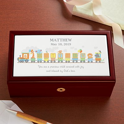 Name Train Keepsake Box