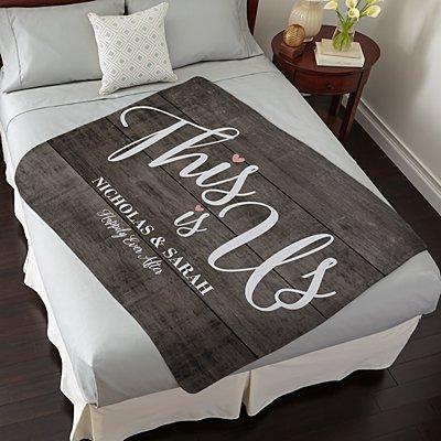 This is Us Wedding Plush Blanket
