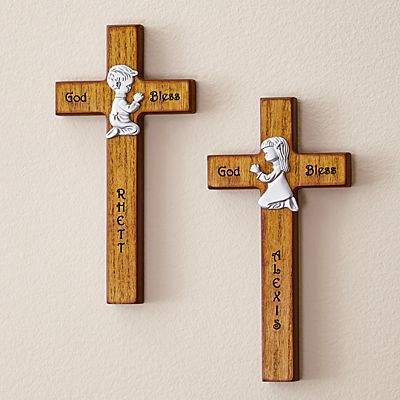 Children's Wooden Crosses