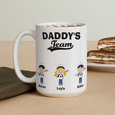 Baseball Buddies Coffee Mug