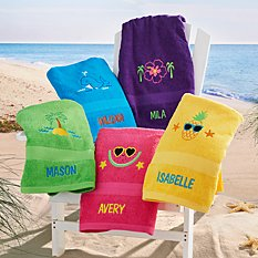 Sunshine Fun Beach Towel