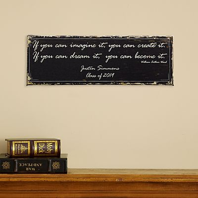 Graduation Inspirational Canvas