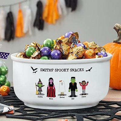 Spooky Family Sweets Bowl