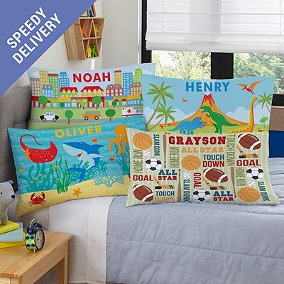Boys' Sleepy-Time Pillowcase