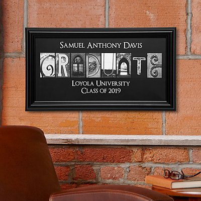 Graduate Architectural Framed Print