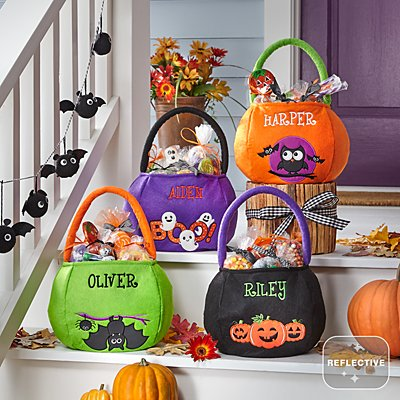 Safe & Smart Reflective Halloween Treat Bags