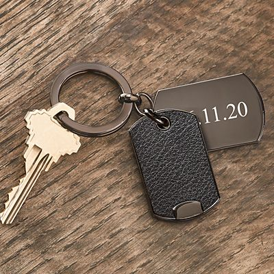 Remember the Date Key Chain