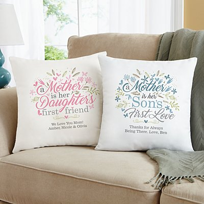 First Memories Sofa Cushion