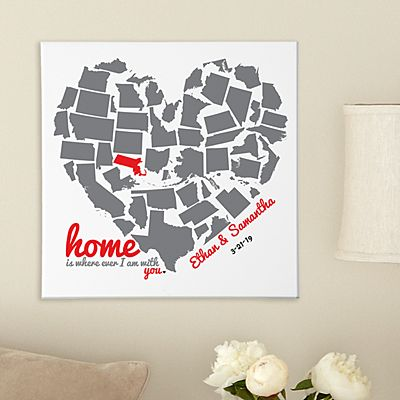 State of the Heart Canvas