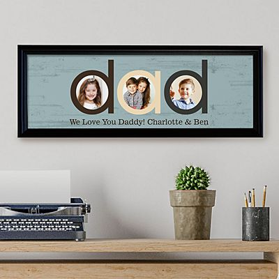 Dad Photo Message Canvas