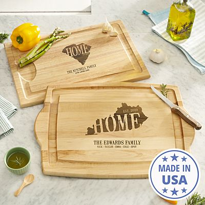 Home State Wood Cutting Board