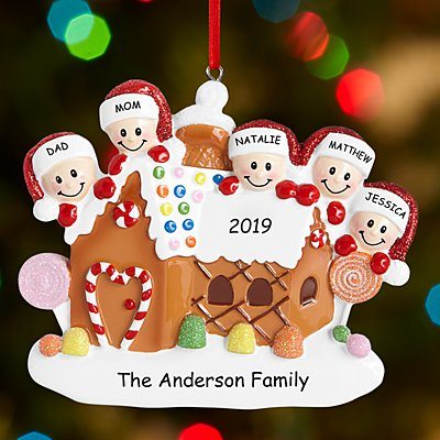 Gingerbread House Family Bauble