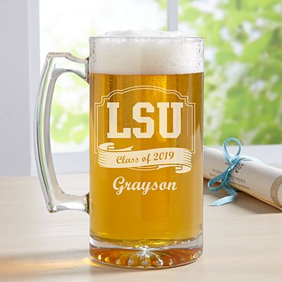 Graduation Celebration Oversized Beer Mug