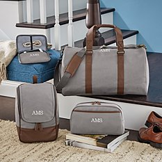 Canvas & Leather Travel Collection