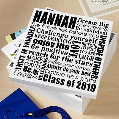 Dream Big Graduation Keepsake Box