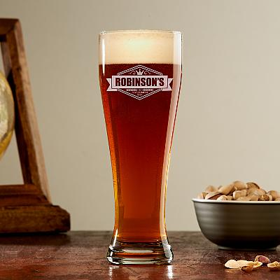 Crown Brew Pilsner Glass