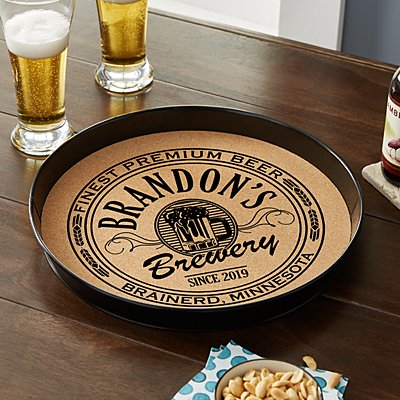 Big Time Brewery Cork Serving Tray