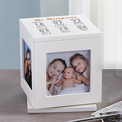 Our Best Days Rotating Keepsake Box