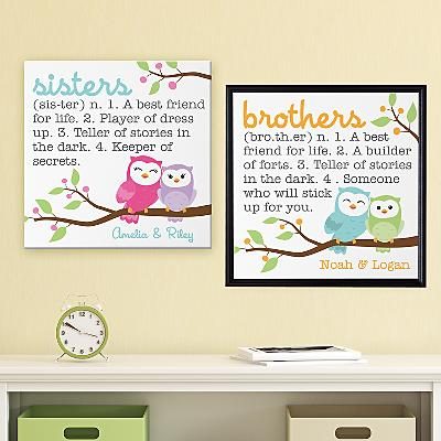 Sibling Meaning Canvas