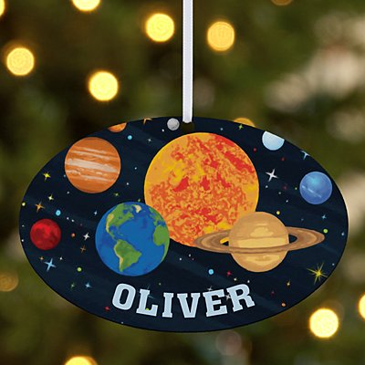 Out Of This World Oval Ornament