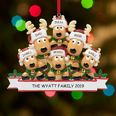 Rocking Reindeer Family Ornament