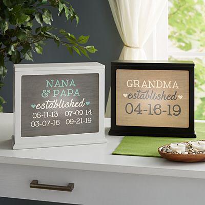 We Became Grandparents Accent Light