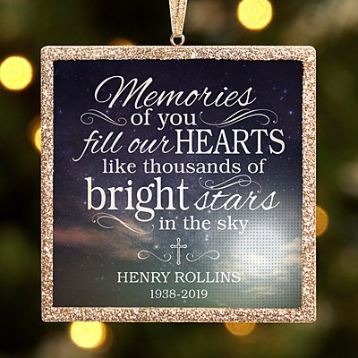 TwinkleBright® LED Memories of You Bauble