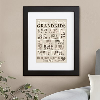Our Grandkids Wall Art