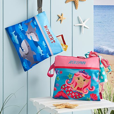 Stephen Joseph® Beachy Fun Wet/Dry Bags